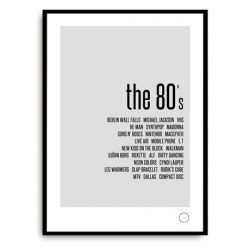 Poster - Remember the 80s