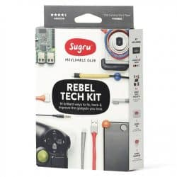Sugru Reparationsmassa ? Rebel Tech Kit