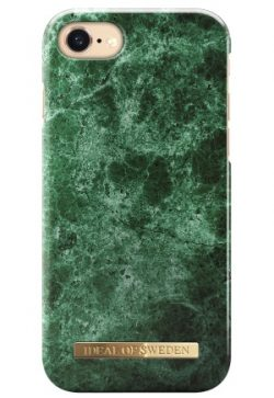 iDeal Of Sweden Fashion Case iPhone Green Marble iPhone 6/7/8