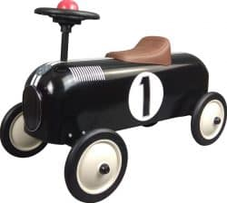 STOY Metal Racer Little Black Car One Size